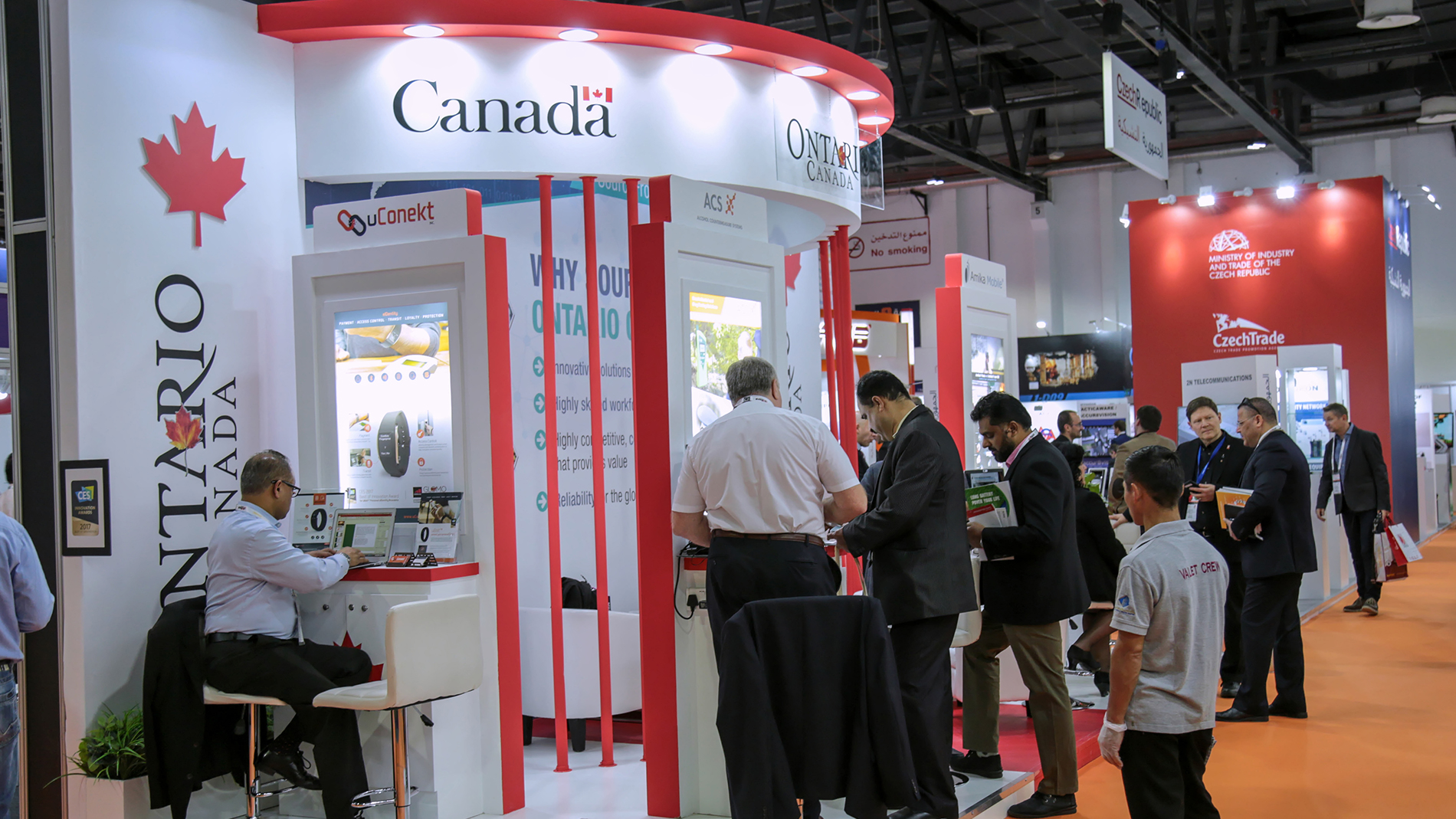 Canadian country pavilion at Intersec