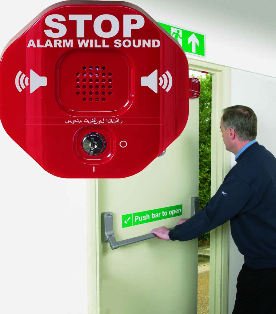 Exit Stopper, Safety Technology International