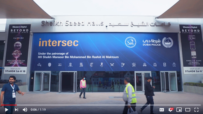 Intersec 2019 Build-up