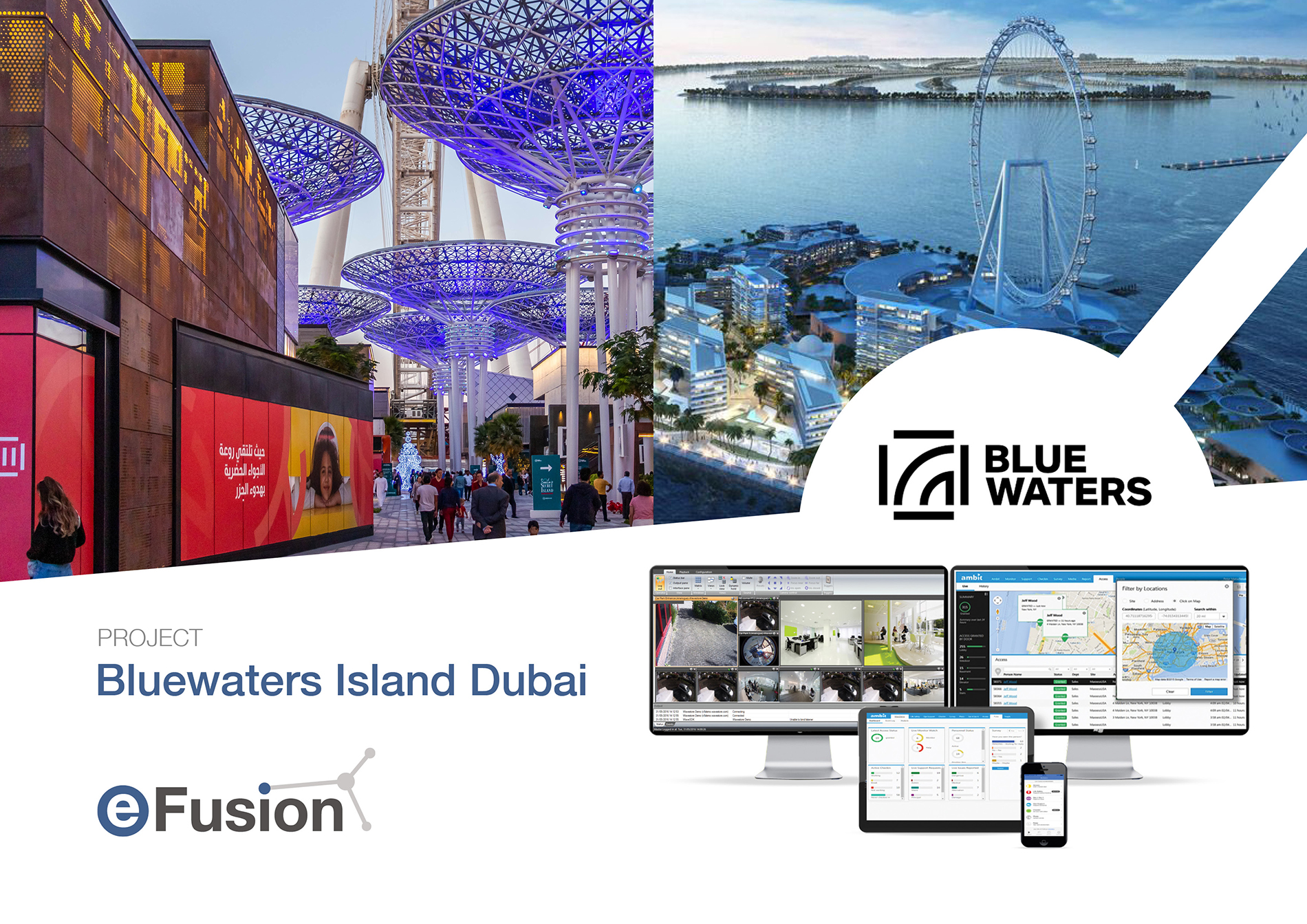 MAXXESS SYSTEMS, A Sustainable and Futureproof Integrated Maxxess Solution at Bluewaters Island