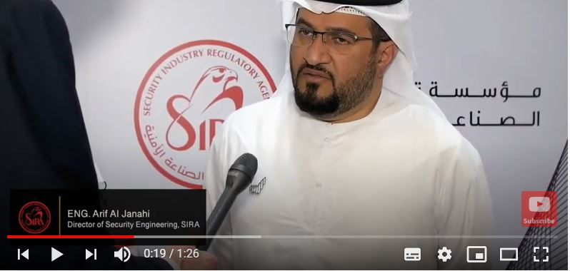 An interview with Eng. Arif Al Janahi, Director of Security Engineering at SIRA
