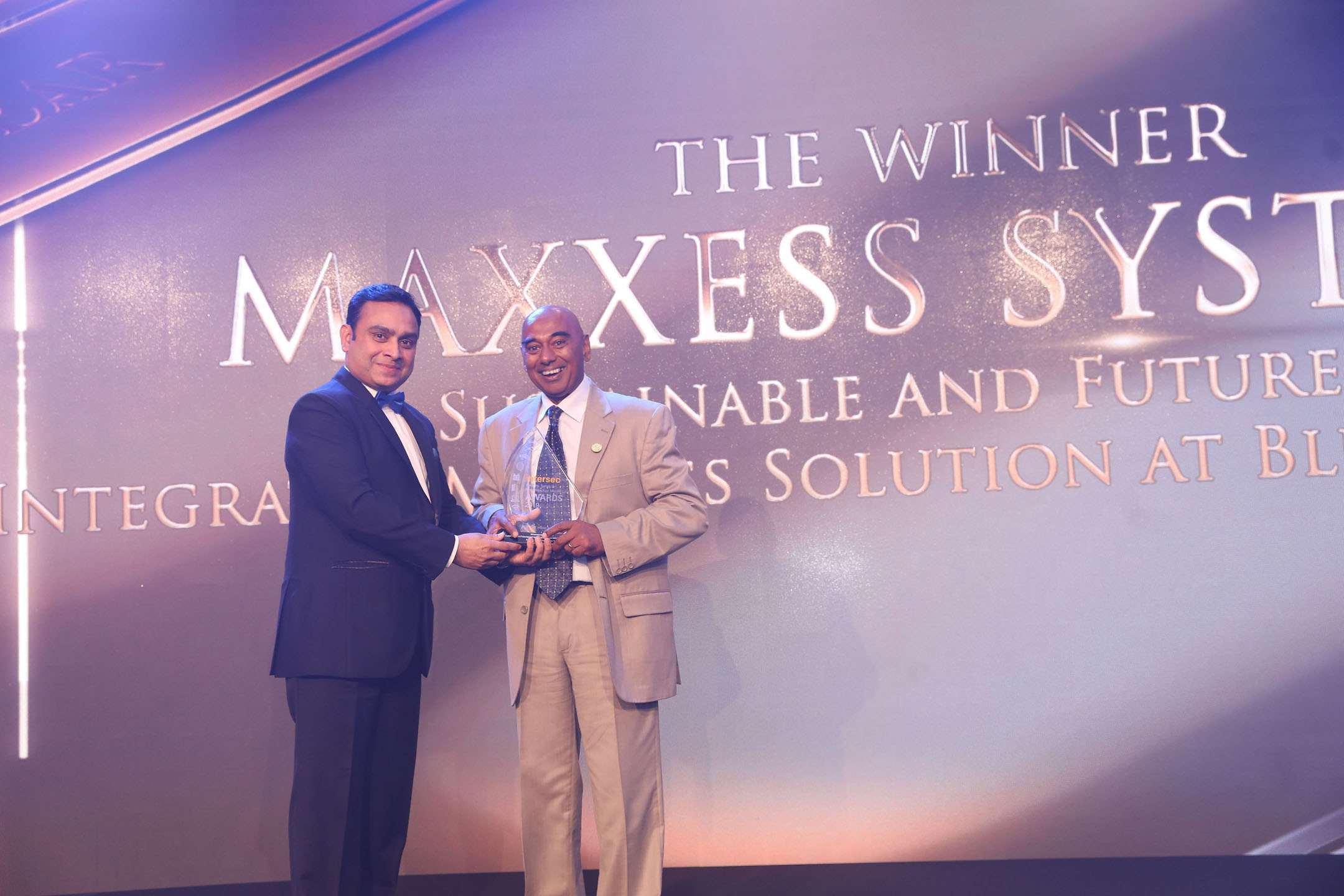 Maxxess for System Integrator of the Year