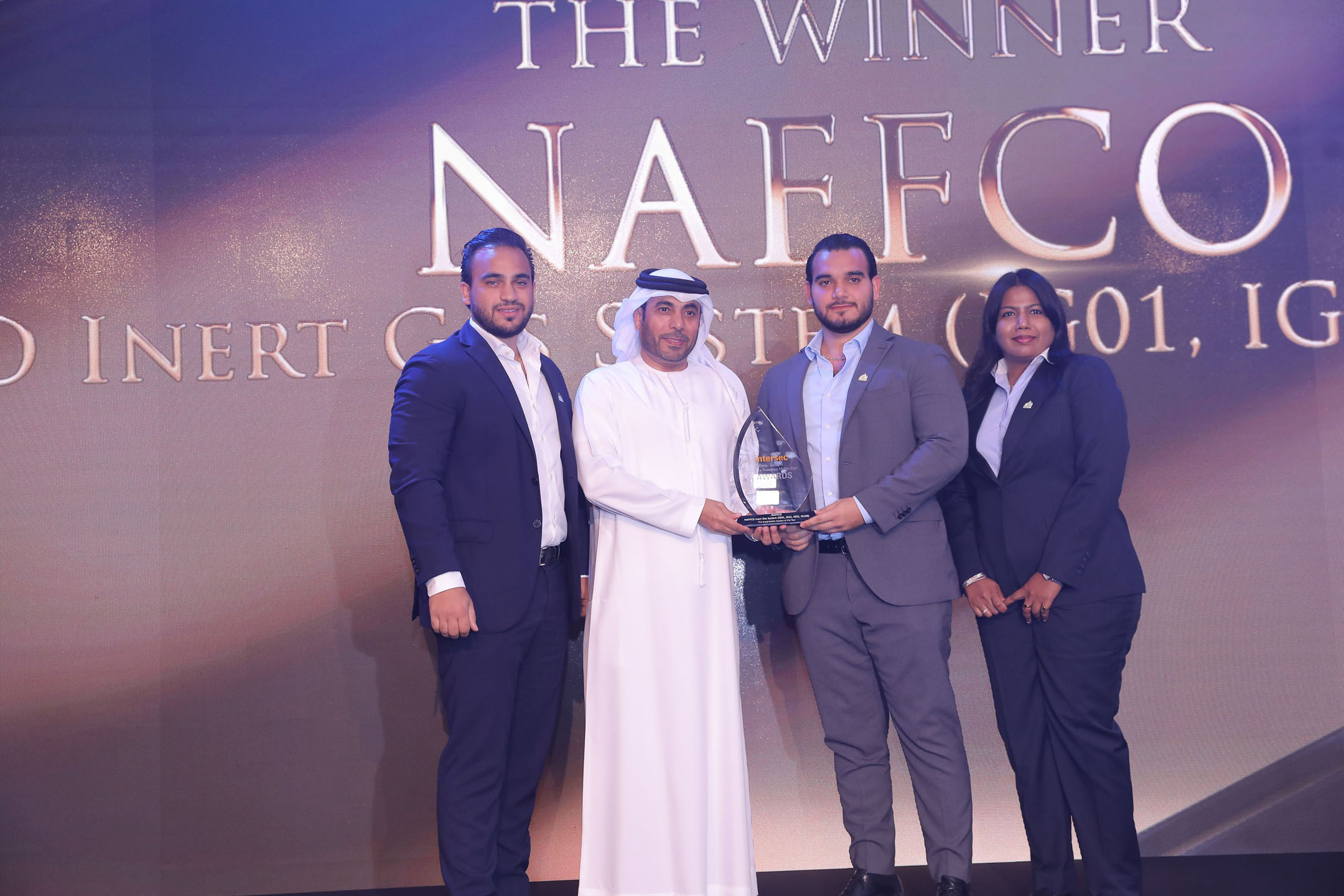 Naffco for Fire Suppression of the Year