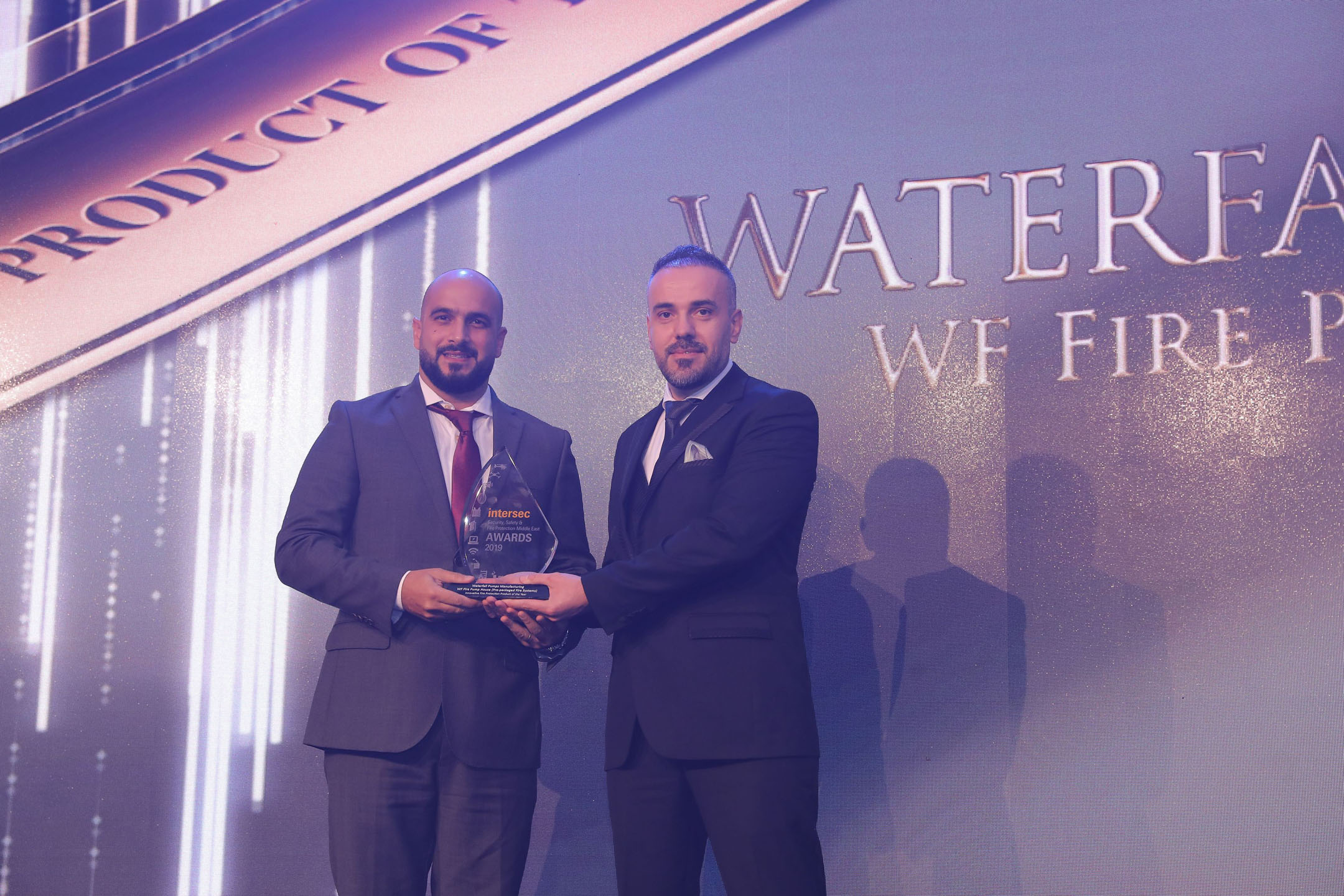 Waterfall for Innovative Fire Project of the Year