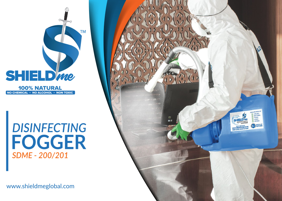 SHIELDme Disinfecting Fogger by Naffco
