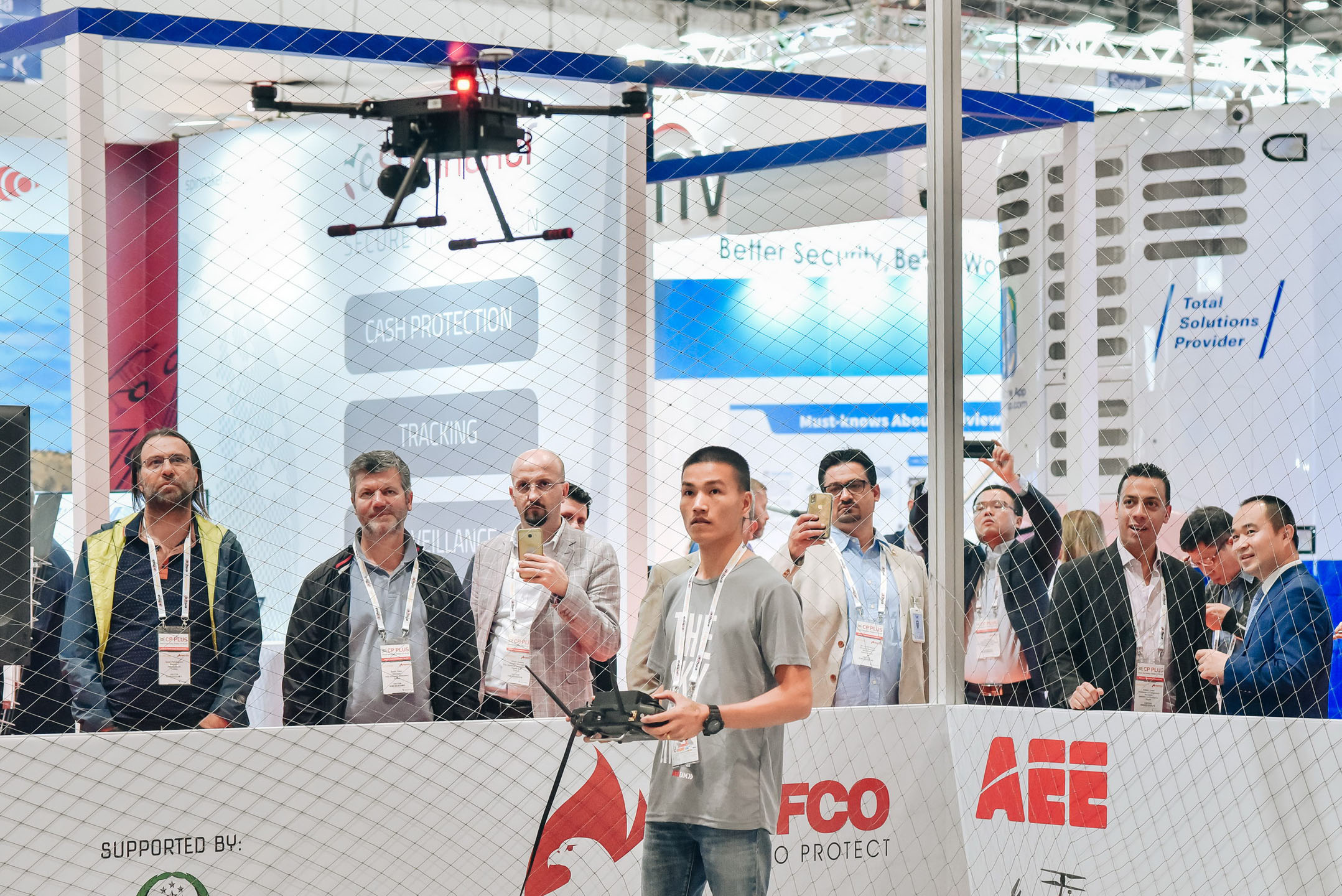 Drone Zone Demonstration at Intersec 2020