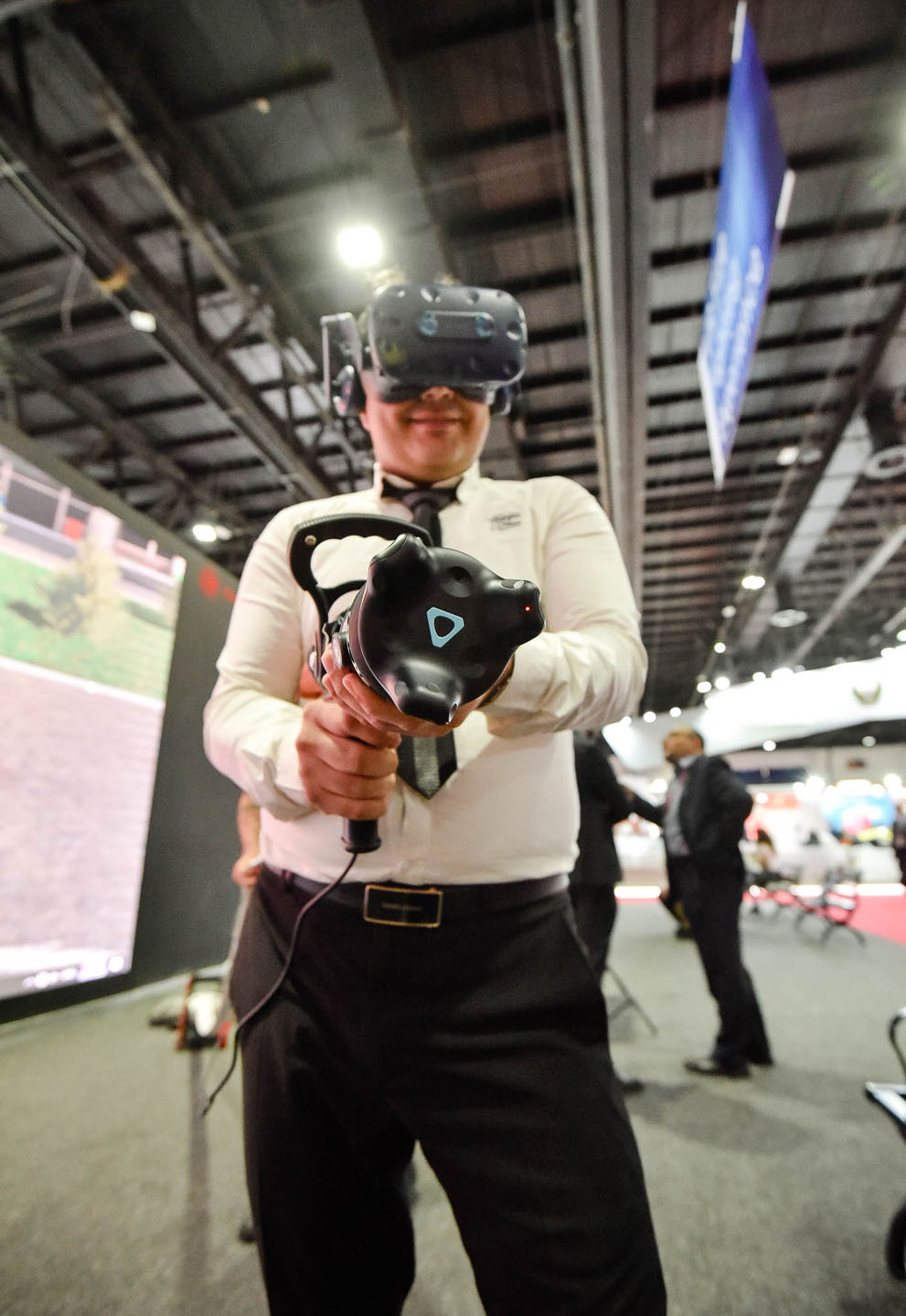 VR Fighting at Intersec 2020