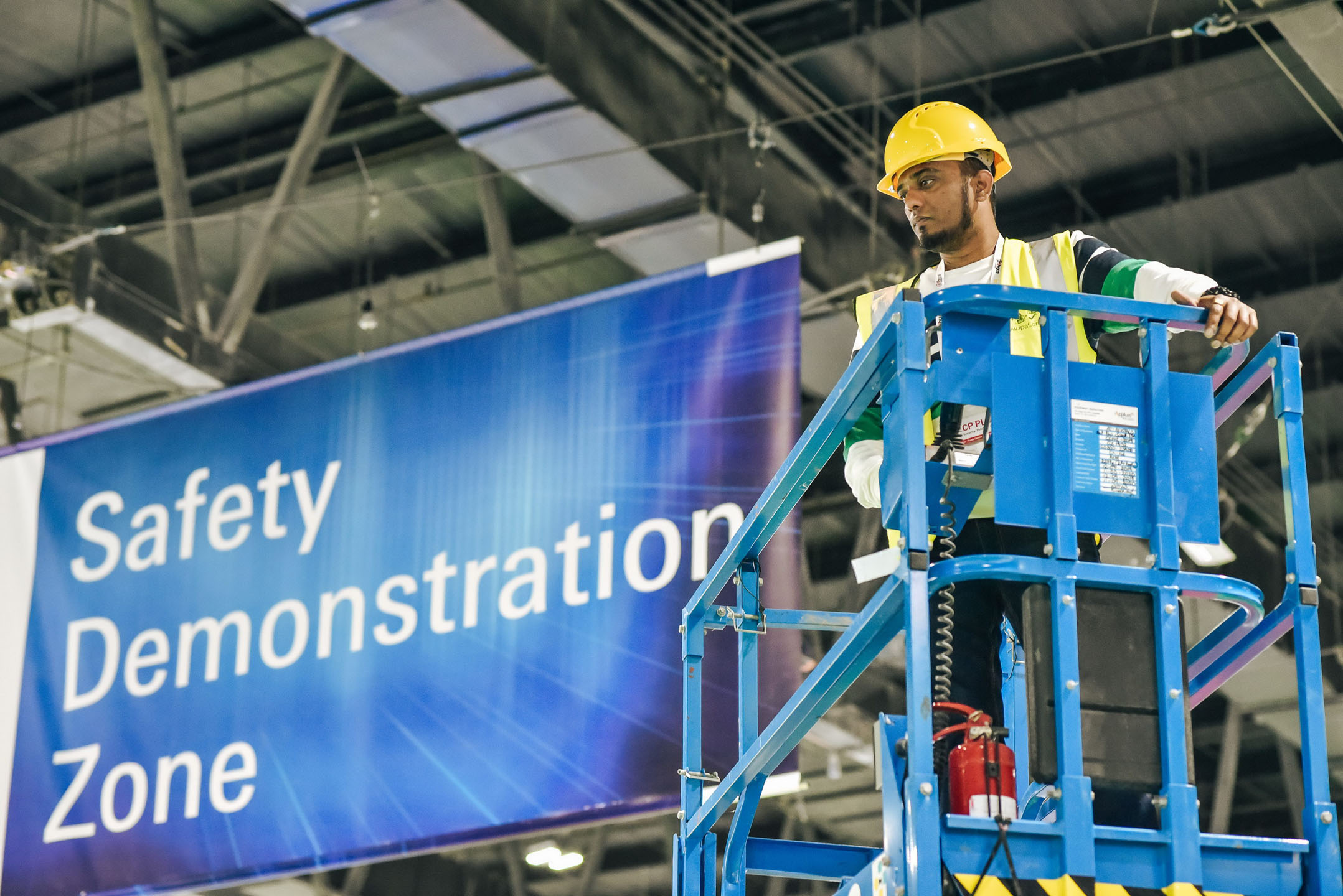 Safety Demonstration at Intersec 2020