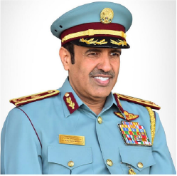 .E. Maj. Gen. Expert Rashid Thani Al Matrooshi Director General of the General Directorate of Civil Defense - Dubai