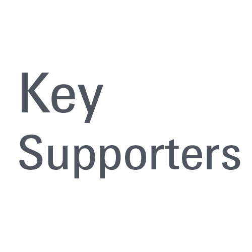 Key supporters