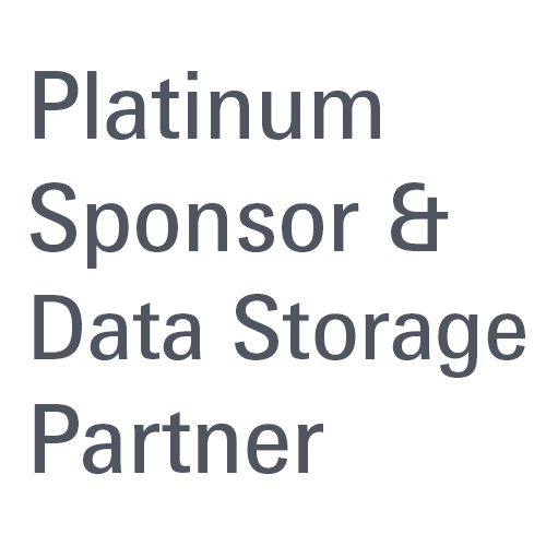 Platinum Sponsor & Data Storage Partner